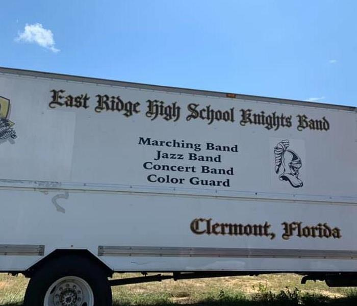 East Ridge High School truck